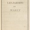 Les jardins de Marly