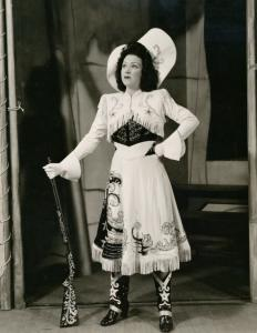 Ethel Merman in Annie Get Your Gun.