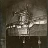 Theatres -- U.S. -- N.Y. -- Belasco Theatre. Proscenium opening.