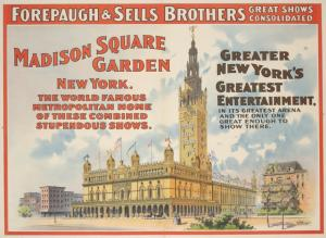 Theatres -- U.S. -- N.Y. -- Madison Square Garden (poster)