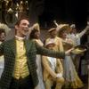 Joel Grey and cast in the stage production George M!