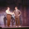 Unidentified actor and Robert Preston in The Music Man
