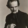 Howard Hull as Edgar Allan Poe in Plumes in the Dust.