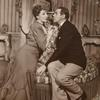 Gertrude Lawrence and Raymond Massey in the stage production Pygmalion