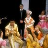Dick Gautier surrounded by company in Bye Bye Birdie