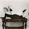 Publicity photo of Greer Garson in the stage production Auntie Mame