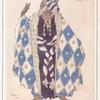 Aquarelle de Léon Bakst pour le costume des Augures du Martyre de Saint Sebastien