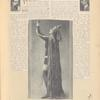 Publicity photos of Mme. Ida Rubinstein in the stage production The Martyrdom of Saint Sebastian. The Theatre Magazine, July 1911, pg. 5
