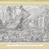 Decor du 1er acte: Le Port de Samagouste, maquette originale de M. Léon Bakst