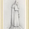 """Mme. Ida Rubinstein dans """"La Pisanelle"""" (2"""" acte). Design originale de M. Léon Bakst"""