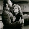 Pobert Mitchum and Greer Garson in the motion picture Desire Me