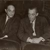 Richard Rodgers and Lorenz Hart during rehearsals for the stage production By Jupiter