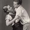 Jean Arthur and Van Heflin in the stage production The Bride of Torozko