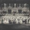 Guy Robertson as Johann Strauss, Jr., conducting orchestra, in the ballroom scene from The Great Waltz.