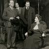 Charles Dingle, Dan Duryea, Carl Benton Reid with Tallulah Bankhead in The Little Foxes
