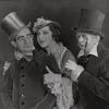 Willie Howard, Fanny Brice and Eugene Howard in the stage production Ziegfeld Follies of 1934