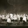 Roberta Jonay (Jennie Brinker) and cast in the stage production Allegro