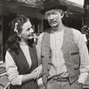 Jeanne Crain and Walter Brennan in the motion picture Home in Indiana
