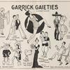 "Illustration of cast from ""Garrick Gaieties"""