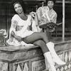Jonelle Allen and Clifton Davis in the stage production Two Gentlemen of Verona