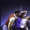 "Actors (L-R) Peter David, Jackie Presti, Scott Waara, Gary Kahn and Amy Jane London in a scene from the Broadway musical ""City of Angels"" (New York)"