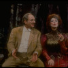 "Actors Jane Alexander and Harris Yulin talking in scene from Edwin Sherin's production of Friedrich Durrenmatt's play ""The Visit"""