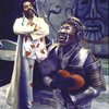 "Actors (L-R) Andre De Shields & Tiger Haynes in a scene fr. the Broadway musical ""The Wiz."" (New York)"