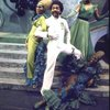"""Actor Andre De Shields (C) w. cast in a scene fr. the Broadway musical """"The Wiz."""" (New York)"""