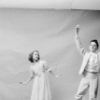 """(L-R) Ballet dancer Bonnie Bedelia with brother, ballet dancer Christopher Culkin, in publicity photo for the New York City Ballet's """"The Nutcracker."""""""