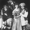 "(L-R) Actors Bernadette Peters, Tom Aldredge, Robert Westenberg, Joanna Gleason and Chip Zien in a scene from the TV production of the Broadway musical ""Into The Woods.""."