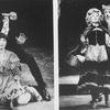 "COMPOSITE PIC: Robert Westenberg and Joanna Gleason; Robert Westenberg and Danielle Ferland; two scenes from the ""American Playhouse"" TV production of the Broadway musical ""Into The Woods.""."