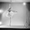 """Ballerina Maria Tallchief in studio pose fromballet """"Swan Lake."""""""