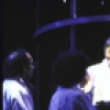 """Actor Bill Moor (C) in a scene from the New York Shakespeare Festival's production of the play """"Temptation."""" (New York)"""