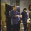 "Actors (L-R) Burt Young, Ralph Macchio, Michael Carmine & Robert De Niro in a scene fr. the New York Shakespeare Festival's production of the play ""Cuba and His Teddy Bear."" (New York)"