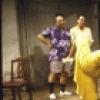 "Actors (L-R) Burt Young, Nestor Serrano, Robert De Niro & Wanda DeJesus in a scene fr. the New York Shakespeare Festival's production of the play ""Cuba and His Teddy Bear."" (New York)"