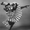 "ABT Ballet dancer Julie Kent dancing in her Christian Lacroix costume for the ballet ""Gaite Parisienne."""