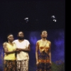 "Actors (L-R) Sheila Gibbs, Ellis E. Williams & La Chanze in a scene fr. the Playwrights Horizons' production of the musical ""Once On This Island."" (New York)"