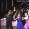 "Actors (L-R) Ken Sacha, Marge Champion, Sandy Duncan, Don Correia, Bill Irwin & Armelia McQueen in a scene fr. the  Radio City Music Hall revue ""5-6-7-8- Dance!."" (New York)"