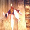 """Actor Obba Babatunde in a scene fr. the Broadway musical """"Timbuktu!."""" (New York)"""