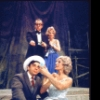 """Actors (Top) Joe SIlver and Melody Santangelo; (Front) Johnny Armen and Jeannette Ertelt in a scene from the Broadway play """"Lenny."""" (New York)"""
