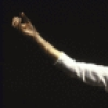 """Mime Marcel Marceau in a scene from his Broadway evening """"Marcel Marceau on Broadway."""" (New York)"""