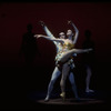 """New York City Ballet production of """"Saltarelli"""" with Merrill Ashley and Francis Sackett, choreography by Jacques d'Amboise (New York)"""