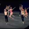 """New York City Ballet production of """"Symphony in Three Movements"""" with Colleen Neary and Bart Cook, Wilhelmina Frankfurt and Victor Castelli, choreography by George Balanchine (New York)"""