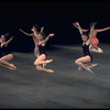 "New York City Ballet production of ""Symphony in Three Movements"" with Marjorie Spohn, Judith Fugate and Dolores Houston, choreography by George Balanchine (New York)"
