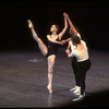 "New York City Ballet production of ""Agon"" with Maria Calegari, Peter Frame and Paul Frame, choreography by George Balanchine (New York)"