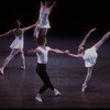"""New York City Ballet production of """"Concerto Barocco"""" with Heather Watts and Otto Neubert, choreography by George Balanchine (New York)"""