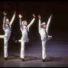 """New York City Ballet production of """"Fancy Free"""" with Joseph Duell, Kipling Houston and Jean-Pierre Frohlich, choreography by Jerome Robbins (New York)"""