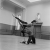 """New York City Ballet rehearsal of """"Agon"""" with Diana Adams and Arthur Mitchell, choreography by George Balanchine (New York)"""