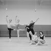New York City Ballet with dancers (L-R) Anthony Blum, Ruth Sobotka, Sara Letton, Edward Villella, Ann Boley and Janet Greschler (New York)