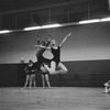 "New York City Ballet rehearsal of ""Electronics"" with dancers Violette Verdy and Edward Villella, choreography by George Balanchine (New York)"
